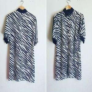 Vintage sheer shift dress
